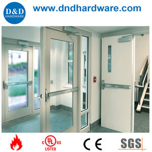 Stainless Steel double escape exit device for fire rated door