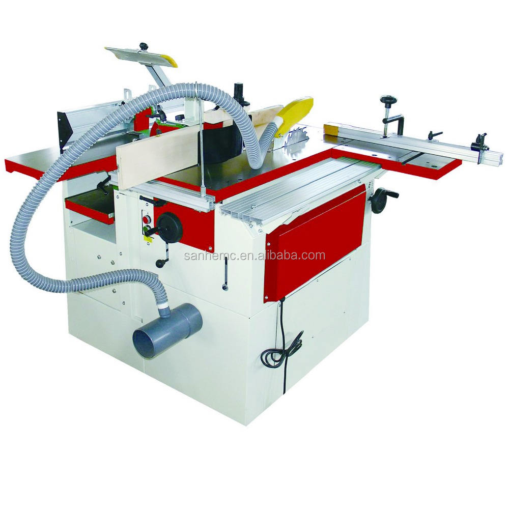 CM250wood planer and thicknesser with mortise / jointer/ table multi functional combined woodworking machine