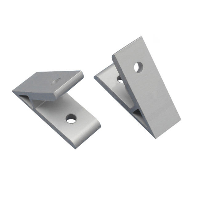 Aluminum Profile Connecting Accessories 45 Degree Angle Bracket Adjustable Angle Mount Bracket