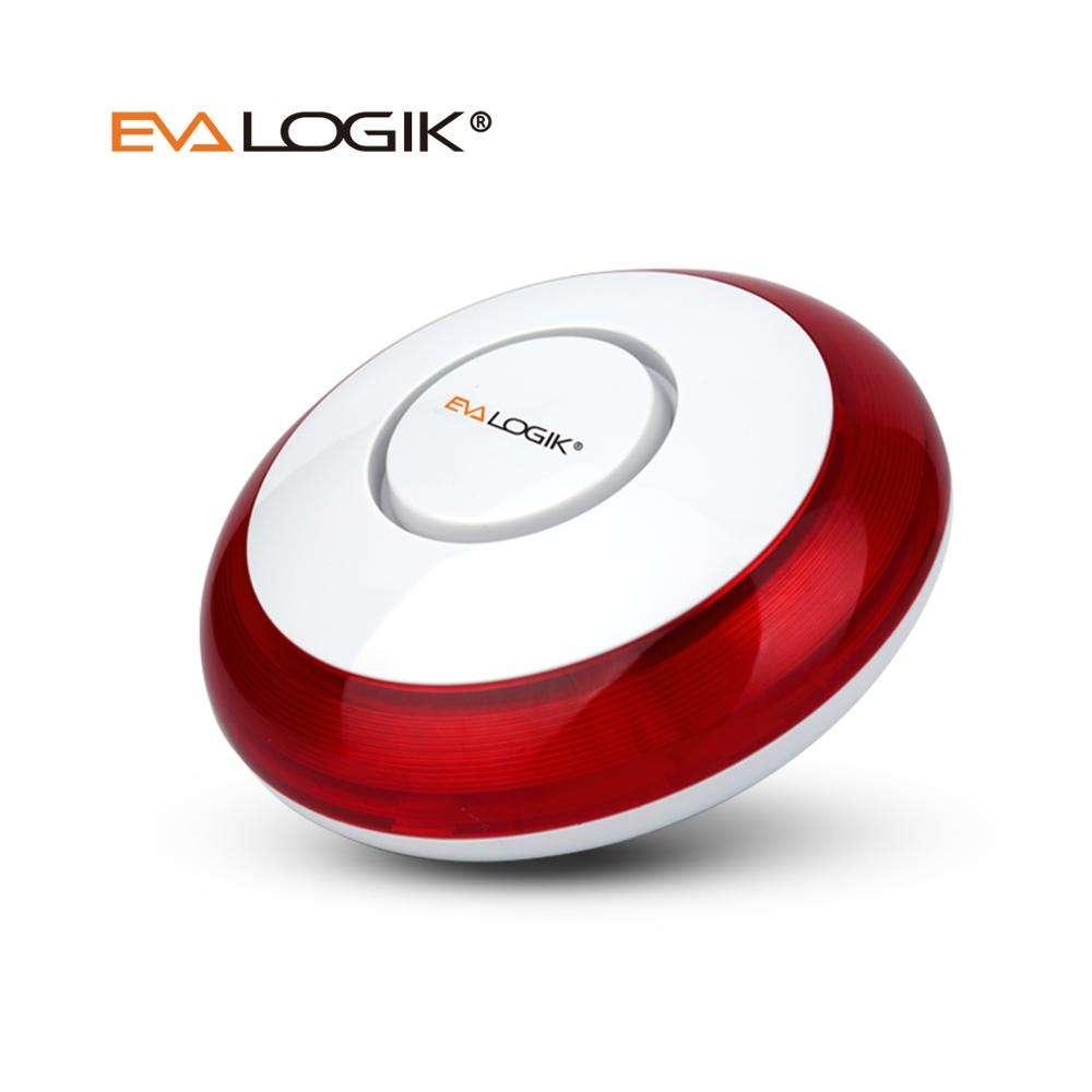 Inalámbrico luz estroboscópica y sonido de <span class=keywords><strong>alarma</strong></span> de sirena de alerta para Z-Wave Smart Home solución