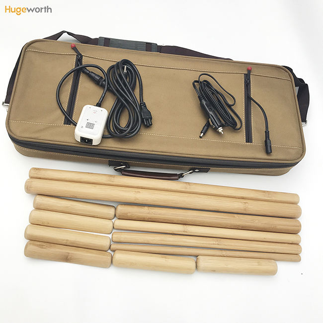 Green bamboo massage therapy warm bamboo massage set