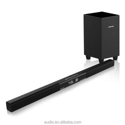 Hot selling wireless tv sound bar subwoofer speaker with sub woofer system