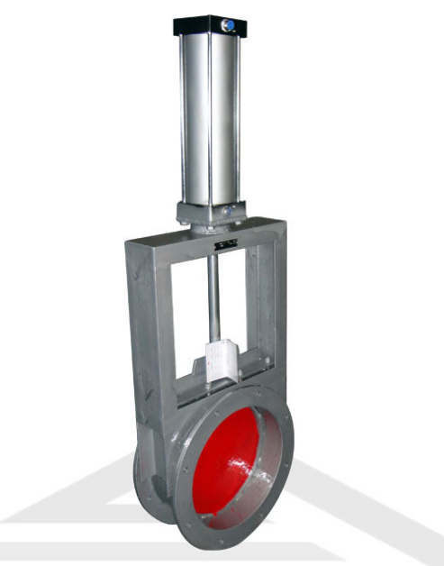 High quality DN300 stainless steel Pneumatic slide gate valve
