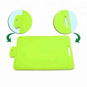Durable Colours Kitchen Silicone Chopping Board Fruit Cutting Board