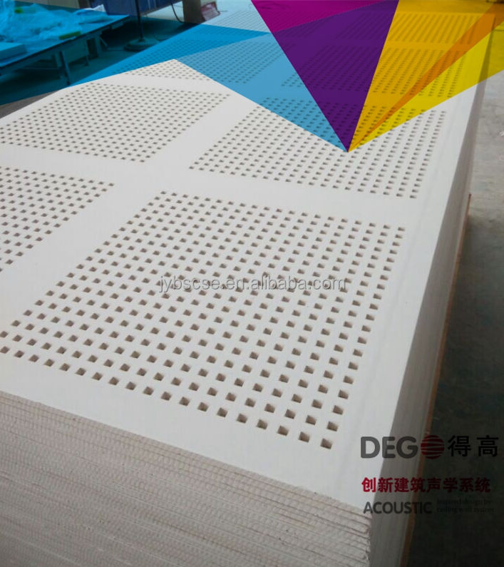 Micro-perforated Acoustic Panels Interior Decoration Timber Acoustic Panels European Projects