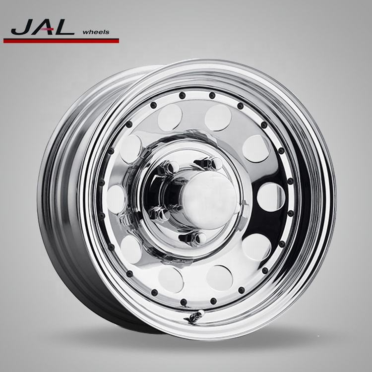 Golden Wheel Supplier Best Quality Steel Chrome Rims 4x4 for Sale
