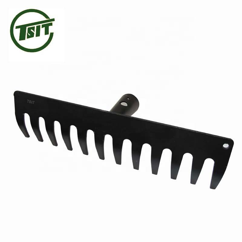 14T good quality steel rake head