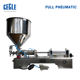 Automatic free ship manual filling machine 5~50ml liquid filler for small business