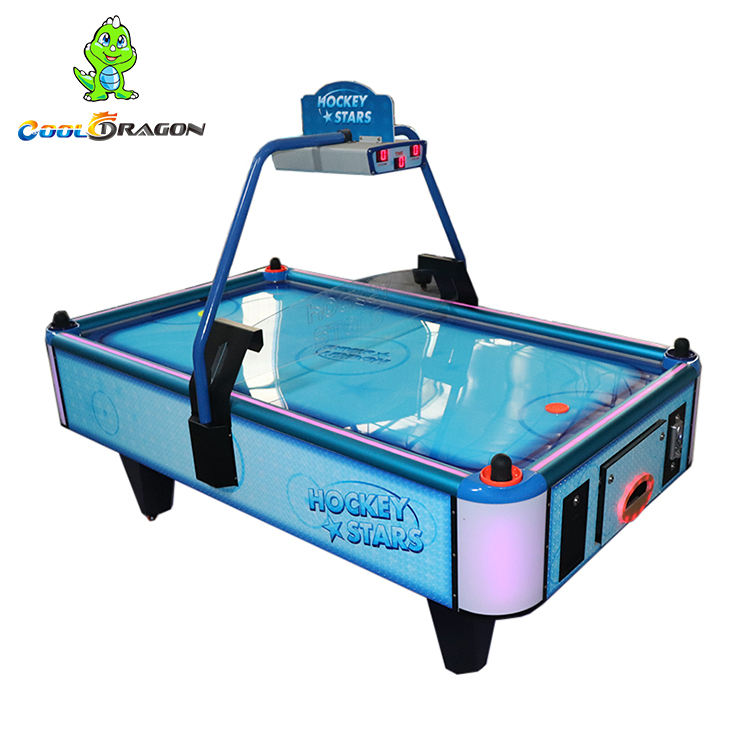 Amusement Coin Operated Star Hockey Table,Air Hockey Game Machine