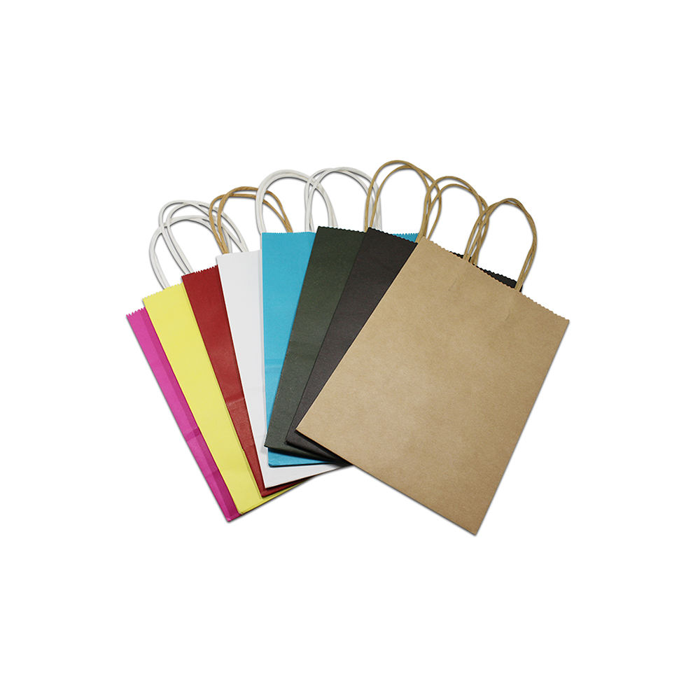 Cheap 150GSM Thickness Brown Kraft Paper Bag With FSC Certificate