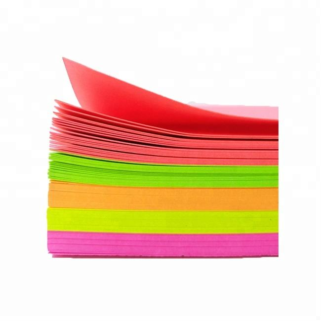 Factory direct 120-350gsm big sheets Pink Peachblow Yellow Orange Green fluorescent color paper