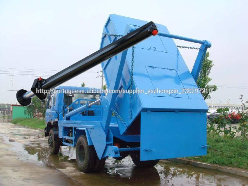 cilindro hidráulico de duplo efeito para o caminhão de lixo