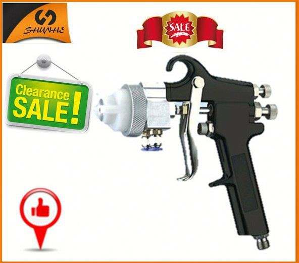 95 Easy to operate single head double nozzle types of spray guns