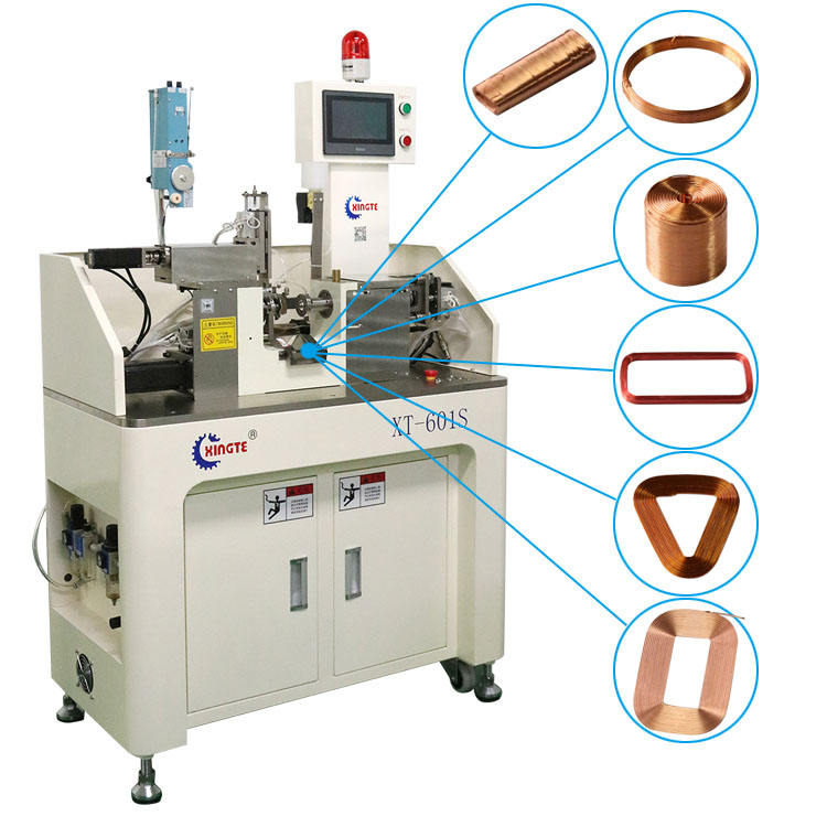 Automatic hollow coil winding machine
