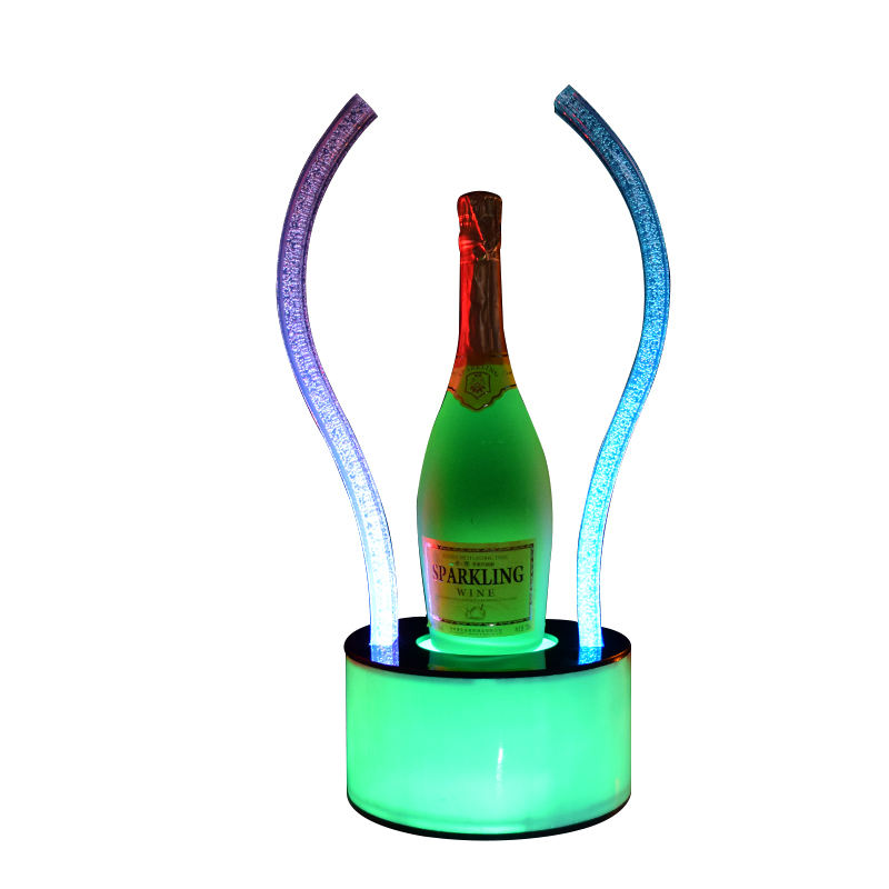 LED Bottle Glorifier Champagne VIP Bottle Presenter Carrier Display for Night Club Bar Lounge Party