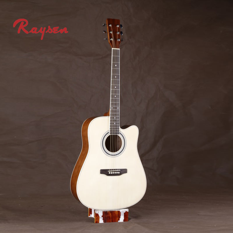 Entry Series practice student acoustic guitar 41 inch sapele body world musical instrument