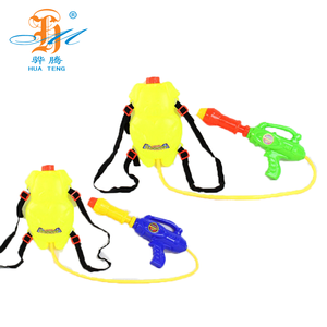 China factory water spray gun 1010G outdoor games plastic backpack water gun for summer