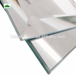 Double Coated 4MM-6MM  mirror tiles 24x24   with bevel polished edges