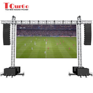 TourGo High Loading LED Backdrop Truss Aluminum Hanging LED Screen Truss Display Outdoor Events