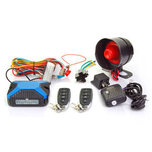 Wireless car alarm CF809X-128A anti-hijacking program menu car alarm security system