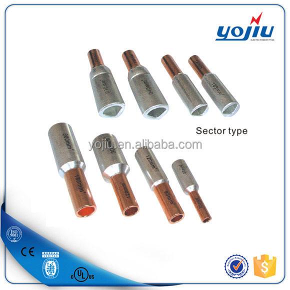 ГОРЯЧИЕ Продажи GTL алюминий медь биметаллические сращивания кабеля трубки разъем