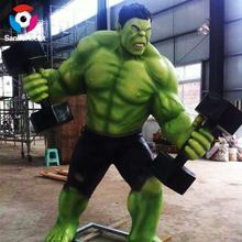 Famous Movie Character Life Size Action Figures Hulk Model