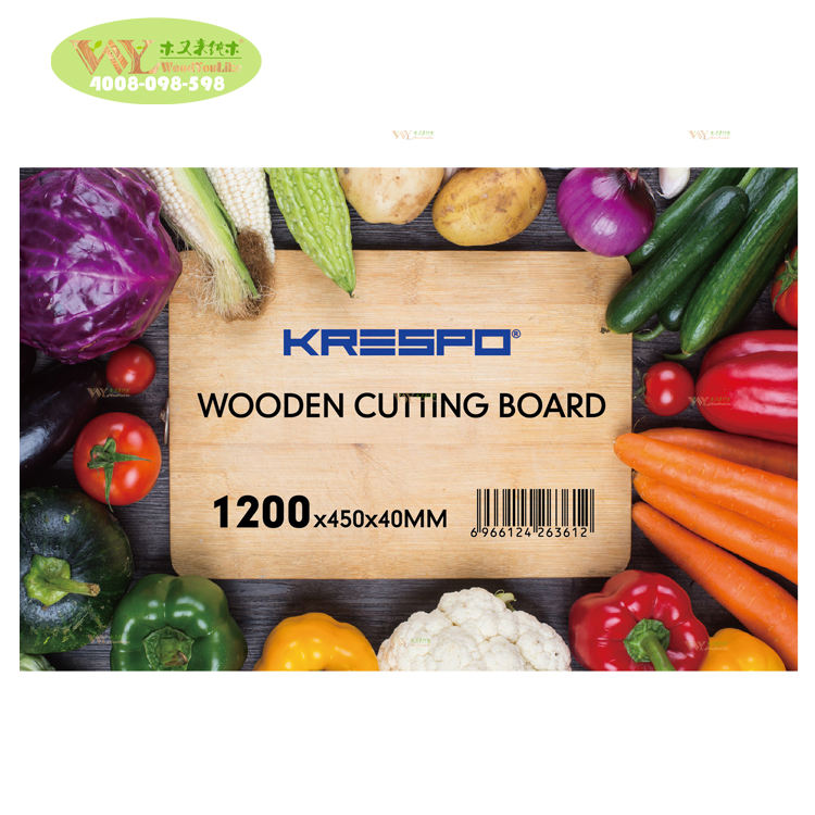 Dapur Kayu Solid Oak Cutting Board Padat Mencegah White Oak Chopping Board