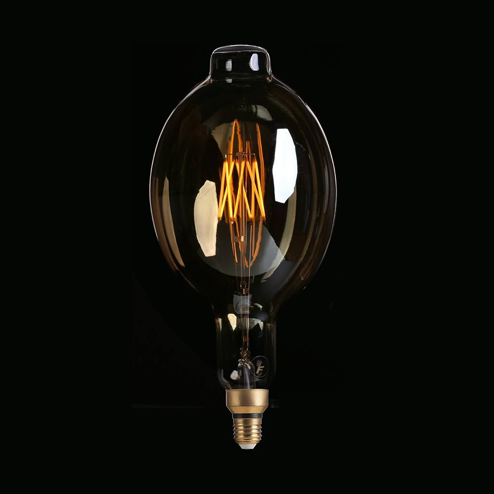 Enorme lamp Edison type lamp grote size amber G200 TT80 4 w 6 w 8 w 2200 k vintage lamp decoratieve licht led gloeilamp