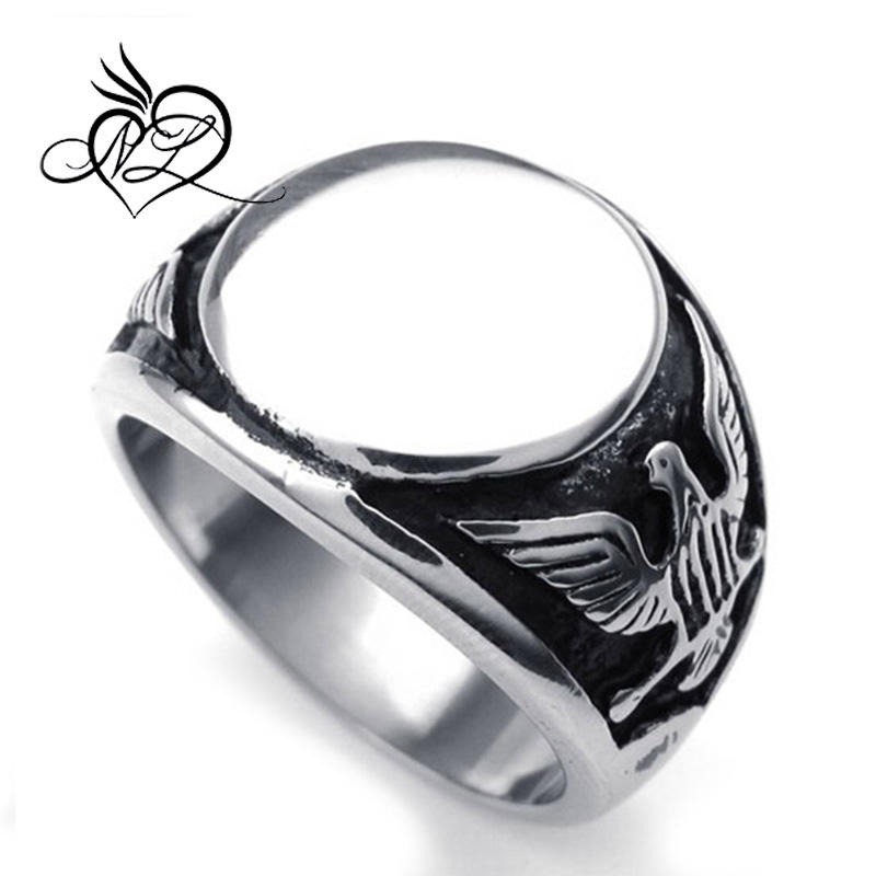 Dragón garra garra anillo de acero inoxidable vaso de piedra rojo Biker Gothic sello