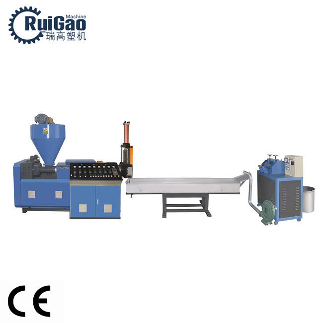 High Output HDPE LDPE PP plastic film garbage recycling machine