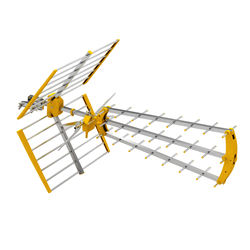 yagi digital satellite amplifier high gain hdtv uhf vhf tv outdoor dvb t2 antenna tv-antenna for Digital Reception