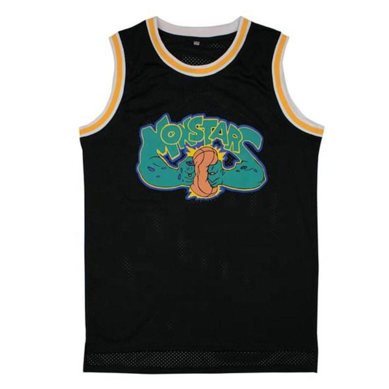 T-shirt du film de unstar Space Jam #0, Jersey de basket-ball