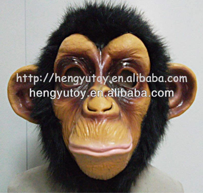 Chimpanzé Masque Adulte Humoristique drôle Deluxe Comique Chimpanzee Singe Gorilla