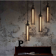 Antique Industrial Loft Retro Vintage Design Ceiling Chandelier Pendant Light Decorative Hanging Metal Led Lamp