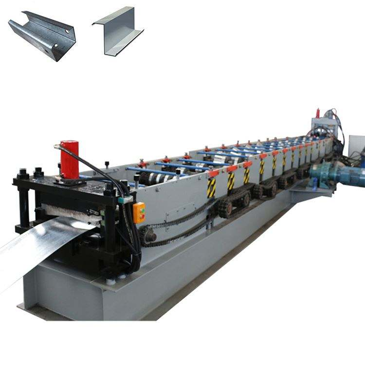 Automatic c z Purlin Channel Roll Forming Making Machine