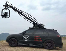 Vehicle Mounted Camera Crane With Stabilized Head