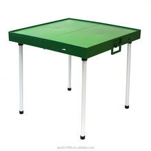 Apollo ABS Folding plastic Table for Chinese Mahjong Outdoor/indoor easy storage and assembly dining picnic multifunction