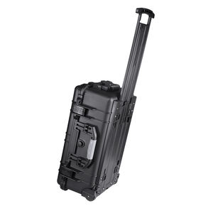 Trolley rolling waterproof hard plastic tool case flight case