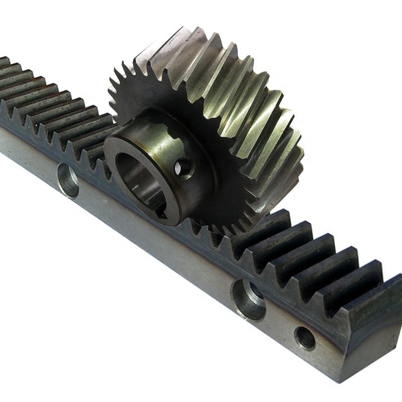 CNC machine parts helical rack and pinion gears