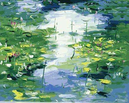 Coloring By Numbers Claude Monet S Paintings Kinds Of Water Lilies Impression Lotus Pictures Paints By Numbers With Colors Diy Buy Paint By Number Kinds Of Water Lilies Painting Diy Product On Alibaba Com