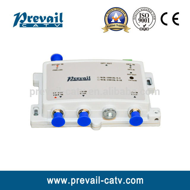 FTTH CATV optical node with RFoG WR1001KS optical receiver