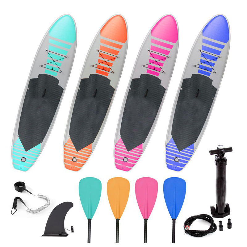 Customize any color and size portable inflatable sup set