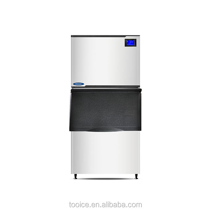Commercial used ice machine/ice packing machine/With Water Dispenser Ice Maker