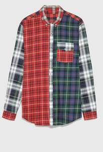 2019 New Fashion Men's Casual Flannel Shirt