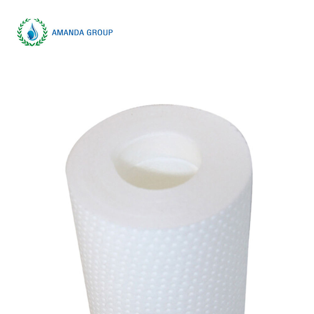 Melt blown PP filter 5 micron 10 20 inch water sediment filter cartridge for water purification systems