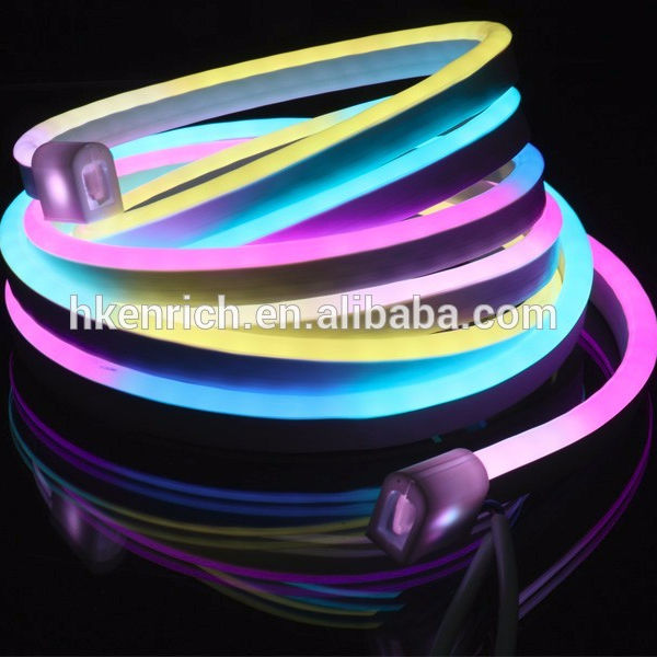 High quality neon led color change string with R40mm bending diameter