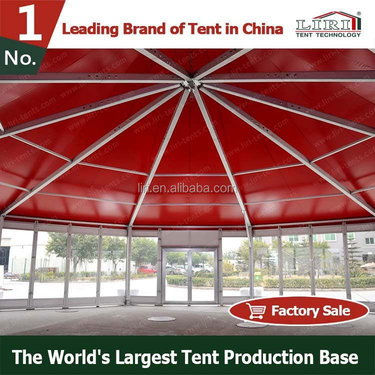 Special Shape Decagon Multi-sides Clear Span Party Wedding Tent Without Center Pole