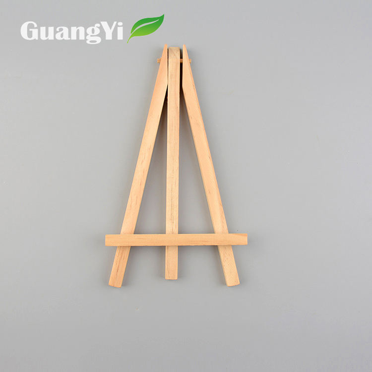 High quality customize decoration display mini wood table paint easels