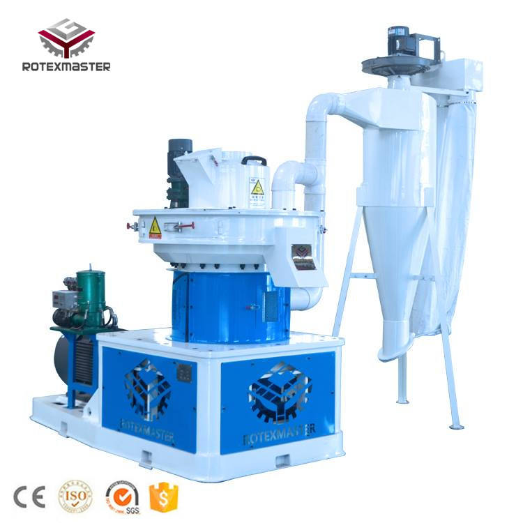 600-800kg/h vertical ring die EFB fiber pellet mill/machine
