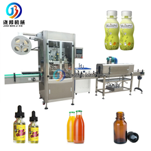 Film wrapping machine, energy drink shrink sleeve labeling machine Shanghai factory JB-TB200